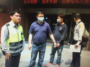 警方搜索…他帶3公斤安毒自投羅網