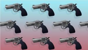 表情符號別亂用! 法國男狂傳「手槍」符號被判刑