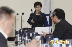 國民黨推動「志工化」 洪秀柱放棄主席薪水