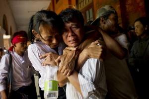 翁山蘇姬說到做到 69名被拘留學生獲釋