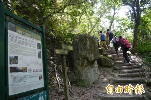 每月逾2千人入園 錐麓古道榮登太魯閣步道