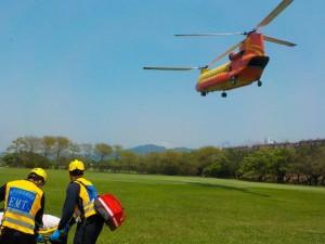 女登山客爬遠多志山腳踝骨折 直升機吊掛救援