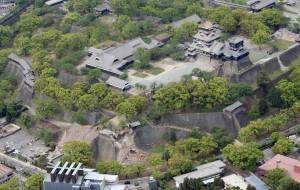 熊本城嚴重震損  城內重要文化財完全倒塌