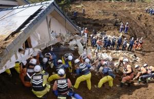 熊本、大分縣餘震超過640起 47死逾千人傷