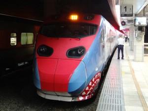 普悠瑪首航西部!蕭青陽彩繪列車座位全滿
