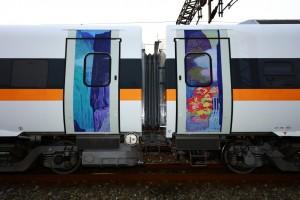 可惜!「太魯閣之美」列車畫作 只能驚鴻一瞥
