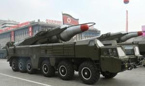 北韓再射「舞水端」導彈 射後數秒墜落