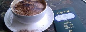 Freddy秀護照貼紙 旅行30多國沒事