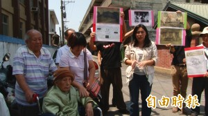搶救彰化農業倉庫古蹟 95歲阿嬤坐輪椅聲援