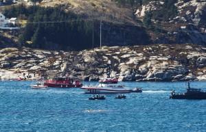 直升機墜毀挪威外海 11死、2下落不明