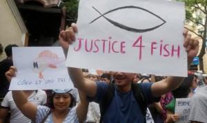 魚群大量死亡 越南民眾街頭抗議呼籲「重視環保」