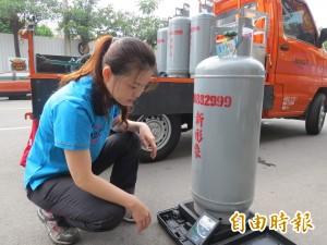 中油宣佈 天然氣調降 桶裝瓦斯上漲