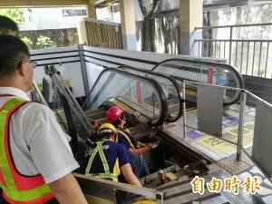 高鐵也有中國製電扶梯   這些因素才是跌倒主因