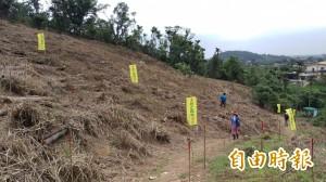 收回遭濫墾地  羅東林管處植樹復育