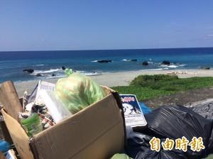 蘭嶼觀光旺季 爆垃圾危機