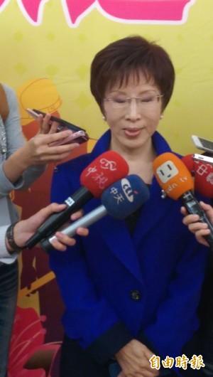 立院大砍登島預算 洪秀柱:民進黨要放棄太平島?