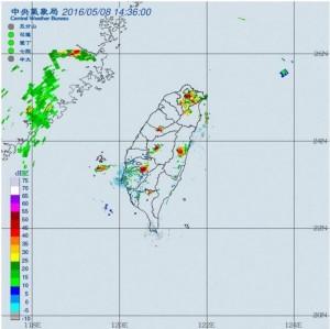 對流旺盛午後雷雨 北宜花及山區須防大雨、雷擊