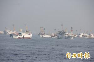 護漁有感!沖之鳥礁海域漁船捕撈滿艙花費時間縮近半