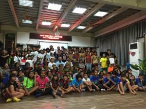 八八風災重創原校 統一贊助課輔班鼓勵學童