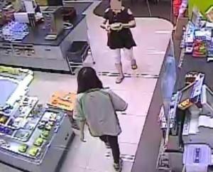 女毒蟲主動送夜點 女店員懈心防被偷三萬元