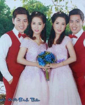 奇妙婚禮! 雙胞胎娶雙胞胎 親友也難分辨