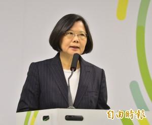 TVBS民調:蔡英文當選後至今滿意度40%