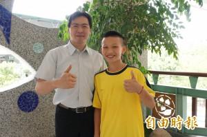 逆風飛翔少年郭奕廷 獲總統教育獎