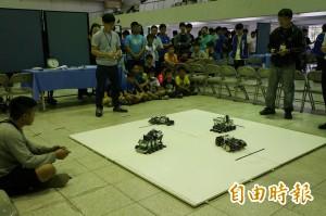 仙拚仙!亞洲智慧型機器人大賽台南嘉藥登場