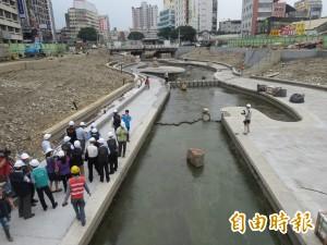 柳川估年底整治完成  將成台中市第一條景觀河川