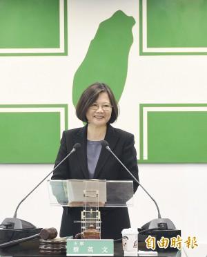 江宜樺不滿撤告太陽花 蔡英文:面對人民憤怒要有同理心