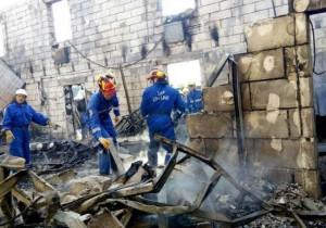 慟!烏克蘭養老院大火 17人橫屍火場