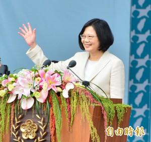 台灣指標民調:小英執政表現 50.2%滿意