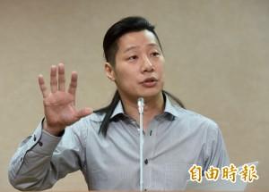 林奏延未提台灣挨批  林昶佐:國民黨沒資格罵
