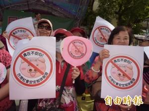 藍營午後續抗爭  黃國昌諷:下班後自動解散?