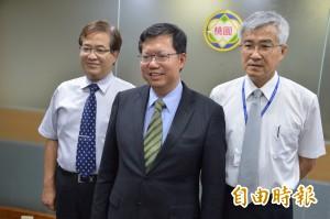 鄭文燦宣布:游建華接副市長、李憲明接秘書長