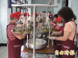 三峽號招百位志工 包6000粽子贈弱勢