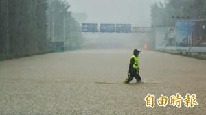 桃機大淹水   長榮部分航班受影響