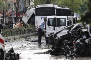 土國伊斯坦堡市中心   驚傳炸彈恐攻11死36傷