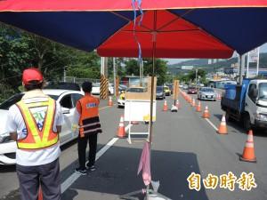 國五一早塞車  石碇交流道也有高承載管制