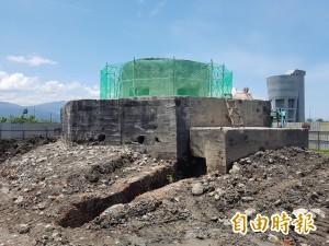 宜縣還原神風特攻隊訓練基地 拆八角塔台外牆