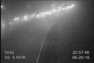 7車連環追撞 國道5號北上4公里大回堵