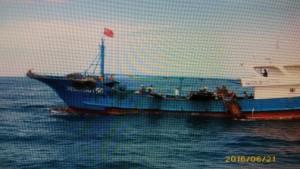 中國休漁期 海巡署澎湖海域擴大威力掃蕩
