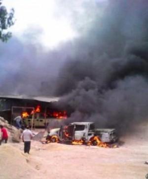 利比亞軍民衝突  軍火庫爆炸至少29死