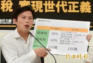 黃國昌不陪總統出訪 留下來挺華航勞工