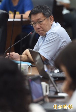 郝建議市長任世大運執行長 柯:我的態度實事求是