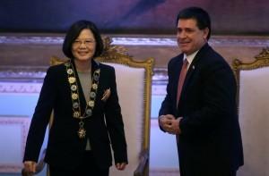 巴拉圭總統看台灣 這句話連蔡英文也感動