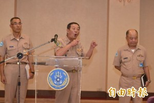 海軍司令部:中士維修檢測時誤射飛彈 無幹部在場