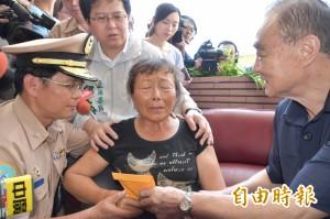 馮世寬登門道歉 船長妻悲痛:飛彈竟然拿來打自己人