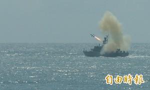 雄風飛彈凸槌不僅一起 這艘船也曾被擊中...
