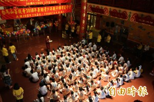 藏傳佛教白馬寺辦學佛營 學習「生活襌」